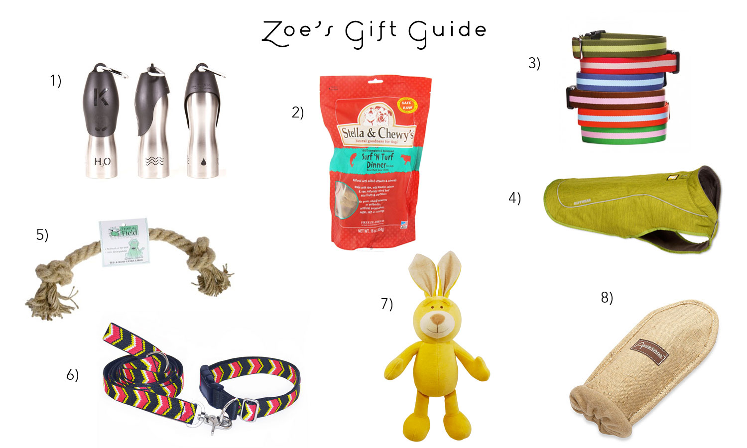 Zoe 'n Me {a dog blog} Zoe First Annual Dog Gift Guide | Jordan benShea | Santa Barbara, California